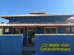 Casas em Unamar, Casas de 2 ou 3 Quartos, Suíte, banheiro social, quintal, Duplex tbm