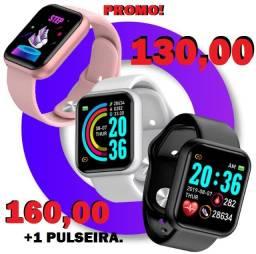 Promoção Relogio D20 Monitor de Saúde Smartwatch