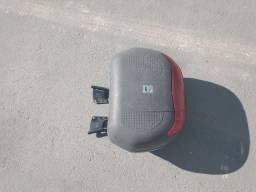 Baú para moto 2 capacetes