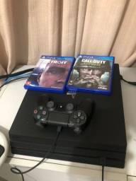 PS4 PRO 4K- 7214b versão mais recente!