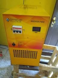 Vendo conversor solar com 6 Kva de potência 110 e 220 novo caixa valor 6.000