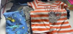 2 pijamas Carters tamanho 24 meses