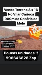 Terreno A 900 m Da Cesario de Melo !! Em inhoaiba