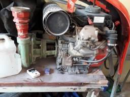 Motobomba a diesel 30 hp ,funcionando perfeitamente,partida eletrica