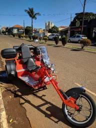 Triciclo, Trike VW 1300 a ar troco por moto custom