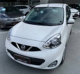 Nissan March SV 2017 - 34.000km. ESTADO DE ZERO!