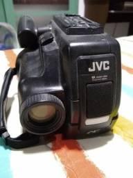 Filmadora JVC no estado.