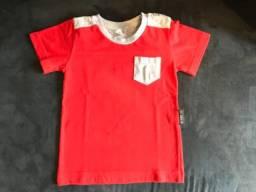 Camiseta BB Básico 6 a 9 meses