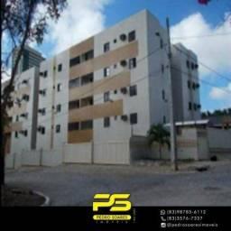 Apartamento com 3 dormitórios à venda, 78 m² por R$ 250.000 - Água Fria - João Pessoa/PB