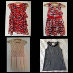 08 - vestidos tamanhos 04 e 06