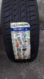 Jogo de rodas 17 com pneus zerados
