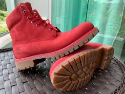 Bota Timberlad Original Red boot 6 M