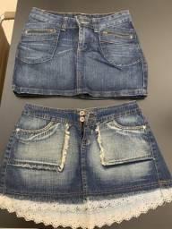 Saia jeans, usado comprar usado  São José do Rio Preto