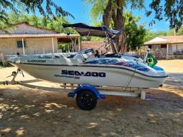 Jet boat sportster sea doo 1800<br>