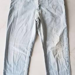 Calça Jeans masculina marca Lois original cor azul celeste