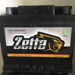 Bateria Zetta 45AH seminova (check-up elétrico grátis )