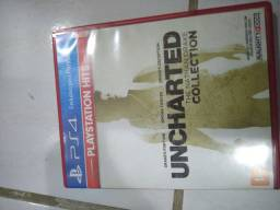 Vendo uncharted collection 1,2,3 ps4