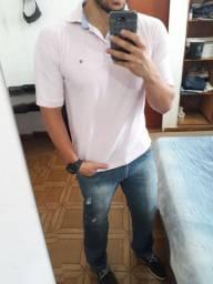 Rosa claro BB camiseta lacoste