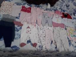Lote de roupa de bebe 70,00