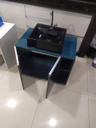 Gabinete banheiro em MDF