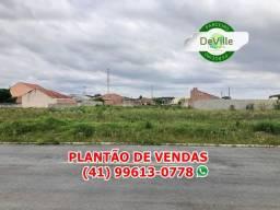 Terreno em São José dos Pinhais - 498,66m² - Entrada de R$10.000,00