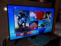 Vendo essa tv semi nova 55 polegadas