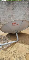 """Antena SKY """"vc na frente sempre"""""""
