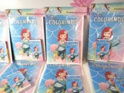 Revista colorindo Sereia