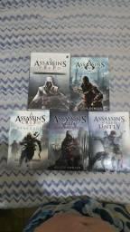 Kit 7 Livros Assassin's Creed