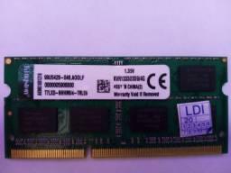 Memória RAM 4gb pra notebook
