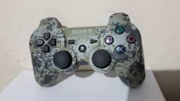 Controle Joystick Sony Dualshock 3 Original Urban Camouflage