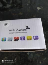 Câmera HD Wifi Visão Noturna Infra Vermelho