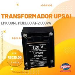 Transformador upsai em cobre at-2.000va