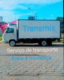 Serviço de transporte frete e mudanças
