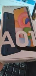 Samsung A01 Azul