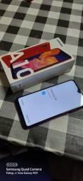 Samsung A10 parcelo no cartão