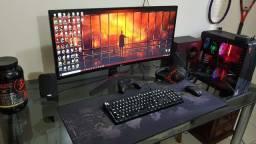 Monitor LG UltraWide 34'' 144 HZ, Semi-novo, modelo 34UC79G-B