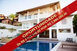 Linda casa com vista panorâmica em Ilhabela