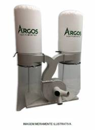Coletor de pó Argos modelo AS-3 motor de 3 cv