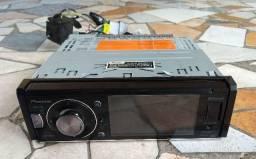 DVD Pioneer (defeito no leitor), porém Bluetooth, USB, Auxiliar, rádio, funcionam normal