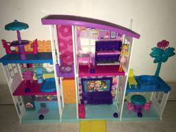 Casa da Polly Pocket! Mega Casa de Surpresas