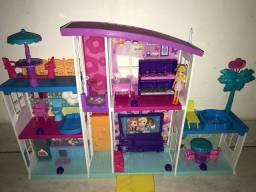Casa da Polly Pocket! Mega Casa de Surpresas
