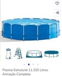 Piscina intex 11.325 litros
