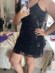 Vestido lantejoula - P
