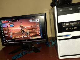 Computador completo . Monito .teclado e mouse gamer.... Leia o anúncio