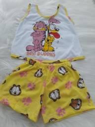 Pijamas Infantis - Atacado Pronta entrega