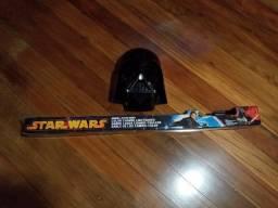 Sabre e Mascara Star Wars Darth Vader
