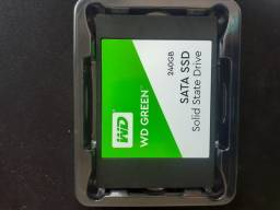 SSD WD GREEN 240GB NOVO NUNCA USADO COM GARANTIA