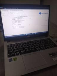 Acer Aspire I5 8 Geração MX130 SSD NVME 256GB