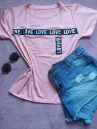Tshirts moda verão camiseta feminina tags